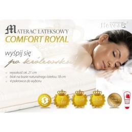 Materac lateksowy Hevea Comfort Royal