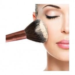 Zestaw pędzli do wykonania profesjonalnego makijażu