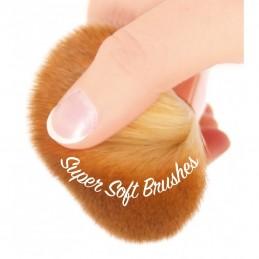 Zestaw zawiera 5 ultramiękkich szczoteczek z włosiem z mikrofibry
