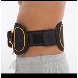 Pas do stymulacji mięśni brzucha i pleców, trener mięśni brzucha 2w1