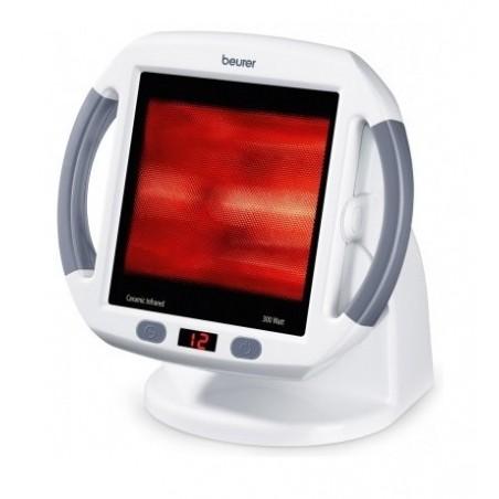 BEURER Lampa na podczerwień ból korzonków, moc 300W, minutnik, bloker promieni UV, szkło ceramiczne