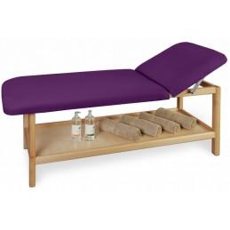 Leżanka drewniana, kozetka lekarska