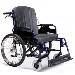 Wózek ze stopów lekkich dla osób bardzo ciężkich ECLIPS XXL
