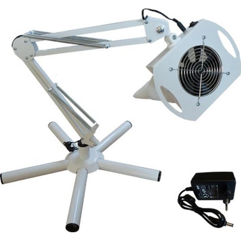 Pochłaniacz na pantografie do zastosowania przy podnóżkach i fotelach.