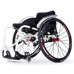 Wózek ze stopów lekkich aktywny z regulowanym kątem siedziska SAGITTA Si