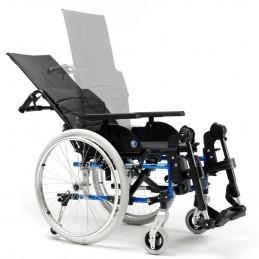 Aluminiowy wózek ze stabilizacją głowy i pleców