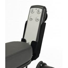 Wózek specjalny multipozycyjny z funkcją automatycznej regulacji na pilota.
