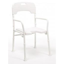 Aluminiowe składane krzesło prysznicowe, sanitarne