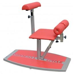 Urządzenie do treningu mięśni grzbietu w pozycji klęku, trening obwodowy