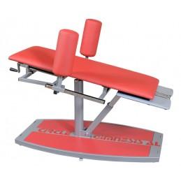 Urządzenie do treningu mięśni brzucha za pomocąkończyn dolnych, trening obwodowy