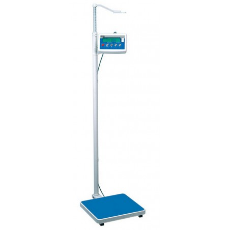 Waga osobowa ze wzrostomierzem wyposażona jest w miernik wagowy PUE C/31