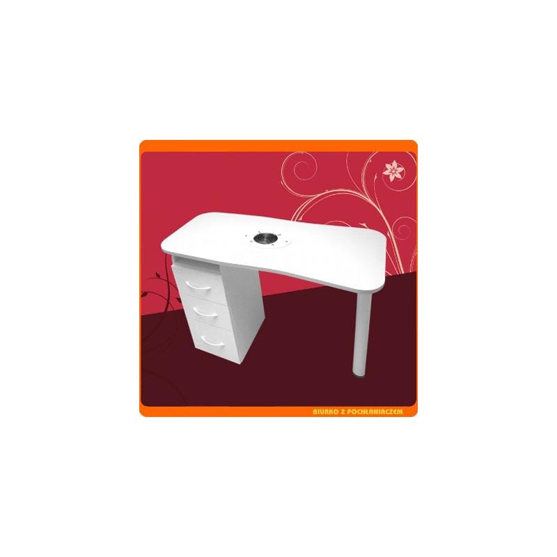Biurko z pochłaniaczem