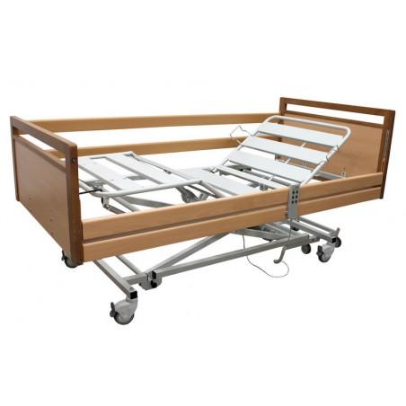 Łóżko medyczne, łatwy montaż bez narzędzi, regulowany zagłówek