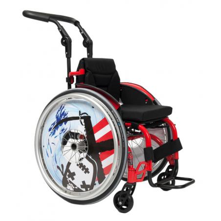 Wózek ze stopów lekkich dla dzieci aktywny SAGITTA Kids