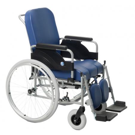 Wózek specjalny z dodatkową funkcją toaletową