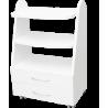 Stolik MEZO pod aparaturę do gabinetu kosmetyczki EKG, USG, 2 szuflady, kółka