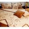 Zestaw MINI camel: kołdra + podkład + 2 poduszki