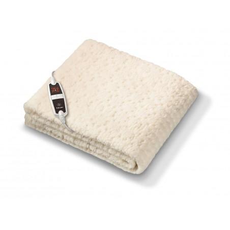 Wkład rozgrzewający do łóżka z pluszu Teddy, oddychający materiał, 4 poziomy temperatury