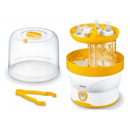 Sterylizator parowy z cyfrowym wyświetlaczem LED na 6 butelek, sterylizacja w 7 minut