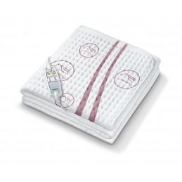 Wkład rozgrzewający do łóżka, bardzo miękki, ogrzwa ciało i stopy, oddychający materiał