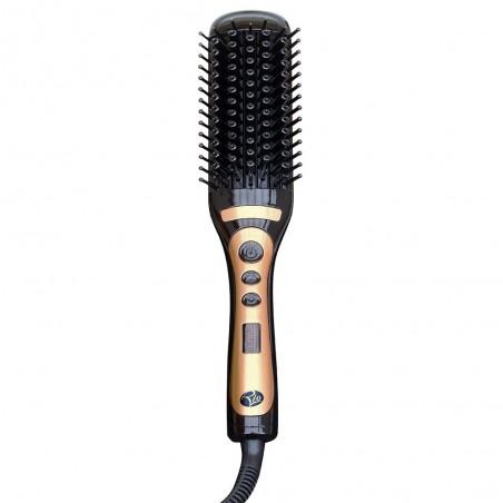 Elektryczna szczotka do prostowania włosów , rozczesuje, wygładza i prostuje włosy.