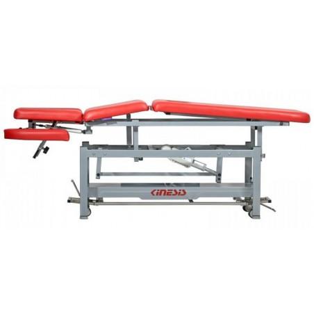 Stół rehabilitacyjny elektryczny, 3 częściowy do drenażu limfatycznego, Pivot