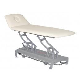 Stół rehabilitacyjny, wycięcie na twarz, elektryczny, sterowanie za pomocą ramy wokół stołu