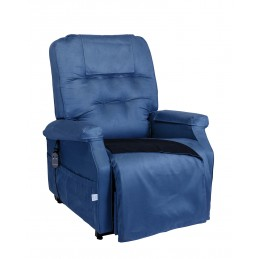 Fotel pionizujący z kocem...