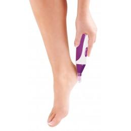 RIO BEAUTY Elektryczny pilnik do usuwania zrogowaciałego naskórka stóp, nagniotków i odcisków.