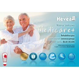 Materac lateksowy Hevea Family