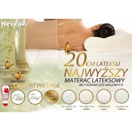 Materac lateksowy Hevea Prestige Luksusowy