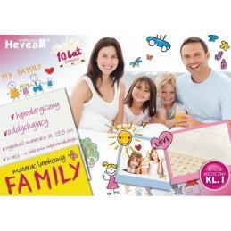 Materac lateksowy Hevea Family WYRÓB MEDYCZNY 8%
