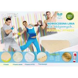 Materac wysokoelastyczny Hevea Fitness Lateks