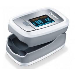 BEURER Pulsoksymetr, pomiar saturacji i bicia serca, kolorowy wyświetlacz