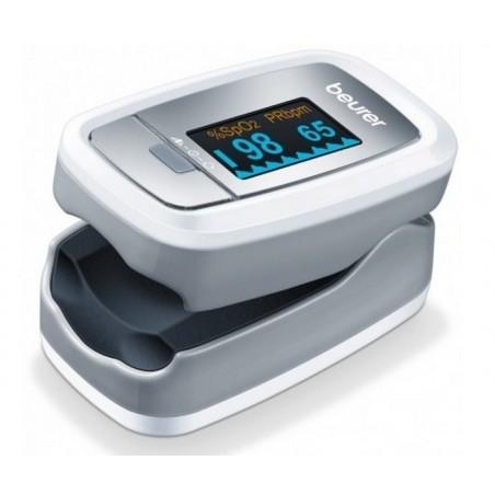 Pulsoksymetr, pomiar saturacji i bicia serca, kolorowy wyświetlacz