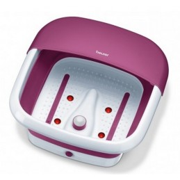 BEURER Składany hydromasażer stóp, podczerwień, z nasadką do masażu, masaż wibracyjny, bąbelkowy