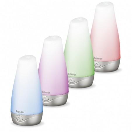 BEURER Urządzenie do aromaterapii, technologia ultradźwiękowa, zmienne podświetlenie LED