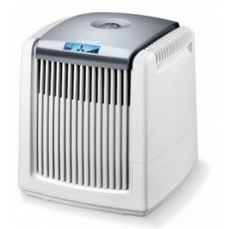 Nawilżacz i oczyszczacz powietrza, oczyszczanie z kurzu, sierści zwierząt, podświetlany na niebiesko