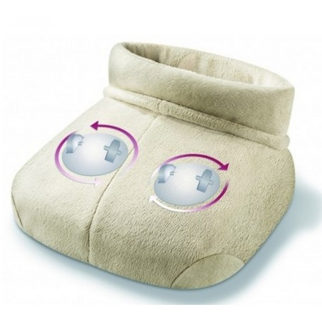 But rozgrzewający z funkcją masażu Shiatsu, zimne stopy