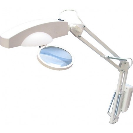 Lampa do manicure lupa, LED mocna do gabinetu kosmetycznego