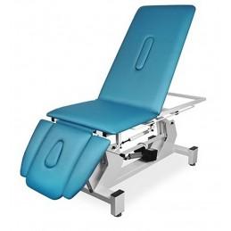 JUVENTAS stół rehabilitacyjny trzyczęściowy pozwala na ułożenie stołu w pozycji fotela