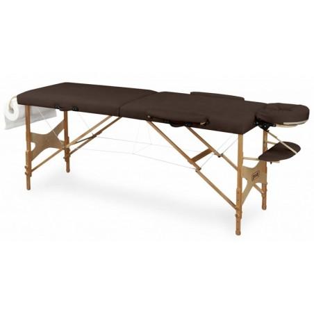 Stół do masażu drewniany składany, przenośny