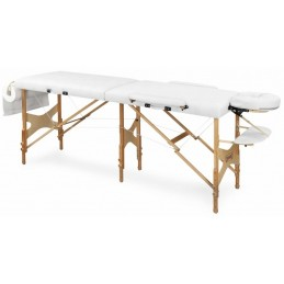 Stół do masażu PRZENOŚNY, drewniany