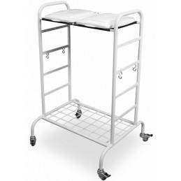 Wózek na brudną bieliznę, szpital 2-częściowy