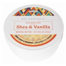 Zestaw do masażu gładkie ciało masło shea 2 rodzaje, 2 peelingi