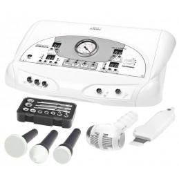 Kombajn kosmetyczny- mikrodermabrazja, ultradźwięki, peeling kawitacyjny, sonoforeza