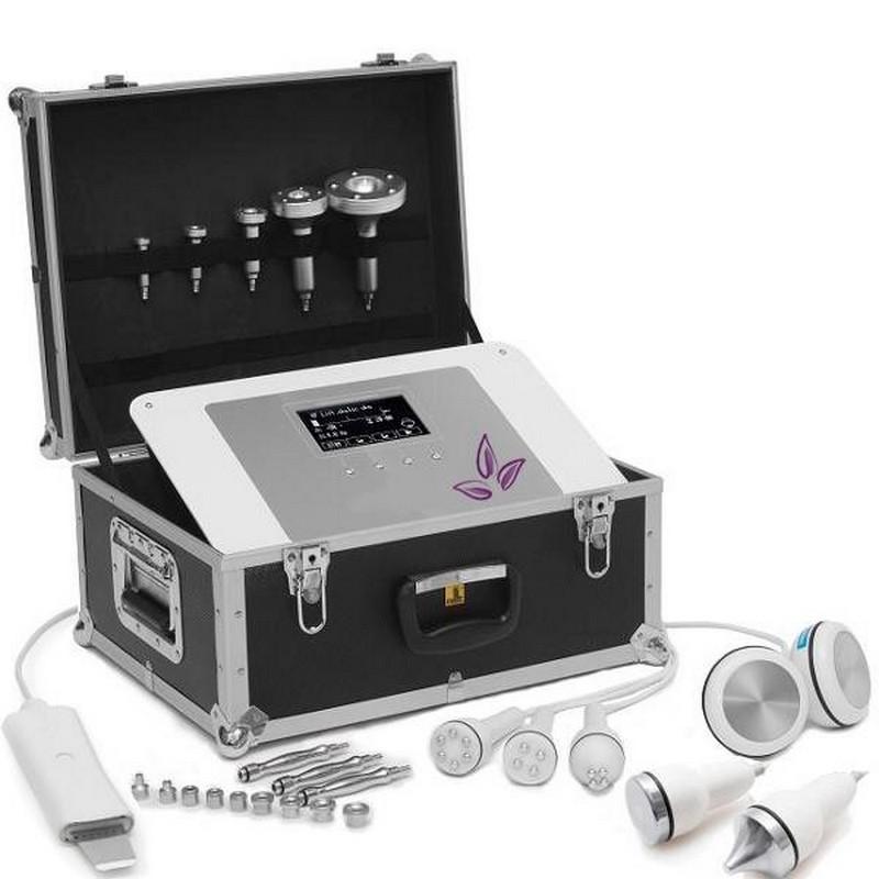 MOBILE 7w1 kombajn kosmetyczny Mikro+lipo+RF+dermo+mezo+kawi+ultra