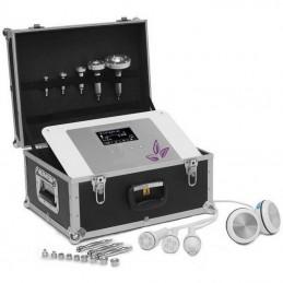 Moilna kosmetyczka kombajn w walizce RF, mikrodermabrazja, liposukcja, dermomasaż