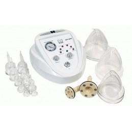 Dermomasażer 2w1 vacuum z mikrodermabrazją, masaż podciśnieniowy, drenaż limfatyczny