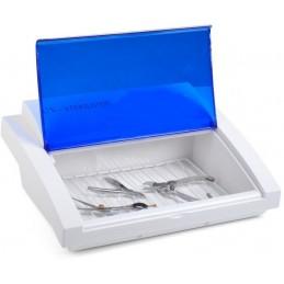 Urządzenie do dezynfekcji UV-C BLUE o dł. fali 254 nm, które niszczą formy wegetatywne mikroorganizmów.